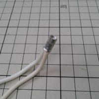 芯線挿入不足